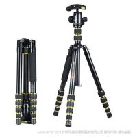 沃尔夫冈 wolfgang JZ-606+YT02   铝合金 三脚架  适用于 betvictor app|官方入口 betvictor app摄像机 等产品 单反相机 专微