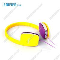 Edifier/漫步者 H640P手机耳机头戴式 单孔笔记本耳麦带话筒 线控